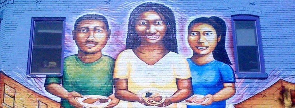 DC graffiti mural - Mi Culture Mi Gente